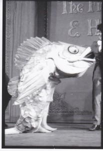 Donald Gramm (The Magic Fish), Costume by Patton Campbell 1970 Image courtesy of the Sarah Caldwell Collection, Howard Gotlieb Archival Research Center at Boston University.