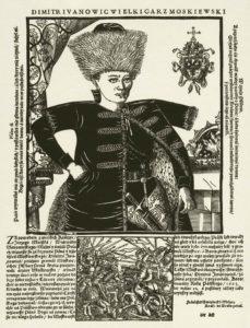 engraving by France Sniadecki, 1606